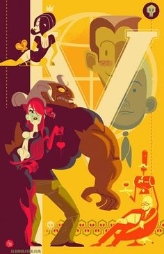 The Autumn Society: Venture Bros #vector #illustration #venture #poster #brothers