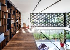 Corten House Celebrating the Sun and Provoking a Play of Shadows - #architecture, #house, #home, #decor, #interior, #homedecor,