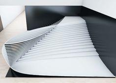 Office III stairs
