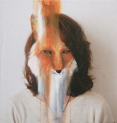 We Make It Good #paint #photography #fox #art