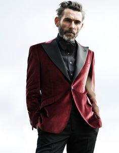 Fashion photography(Velvet Smoking Jacket Rose