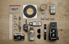 FFFFOUND! #stationary #motel #studios #branding