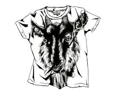 Kelsey Dake - McSweeney's The Believer #goat #illustration #t #shirt