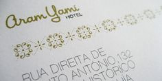 Aram Yami Hotel · Brand Identity & Website on the Behance Network #yoyo #corporate #identity #hotel #logo