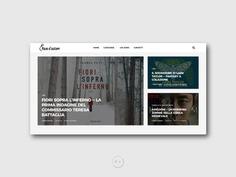 Naso d'autore - Website by Orimat #ui #design #interface #designbyorimat #website #nasodautore #naso #autore