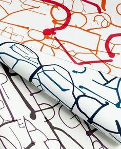 New Work: Ink Collection for KnollTextiles | New at Pentagram | Pentagram #miller #abbott #design #knoll #textile