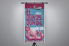 DUN DUN - ignacio fretes #typography #design #illustration #poster #dun