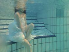 Ophelia #woman #wet #underwater #ophelia #photography #dreamy #dress #raven