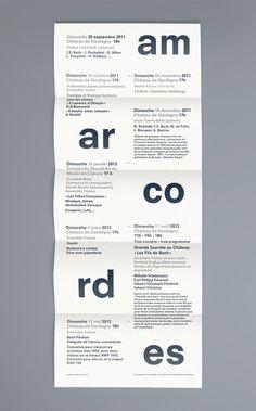 NEO NEO | Graphic Design | Amarcordes #poster #typography