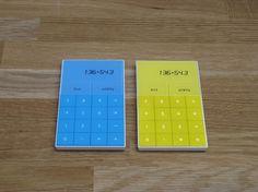 Calculator : Alexander Hulme #modern #hulme #design #calculator #alexander