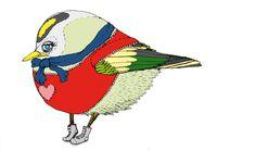 the birds #illustration #animal #bird