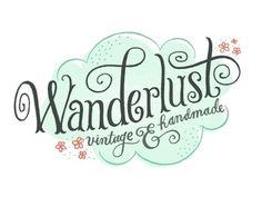 Dribbble - Wanderlust Logo by Mary Kate McDevitt