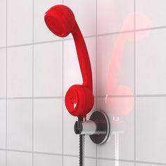 Off The Hook Shower Head #tech #flow #gadget #gift #ideas #cool