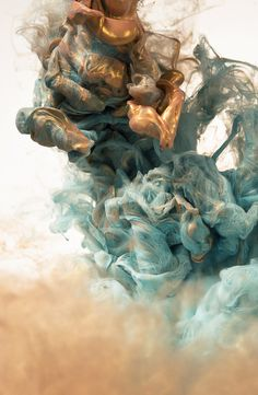 Stunning Photography of Metallic Ink Clouds by Albert Seveso_3 @ GenCept #photography #metallics