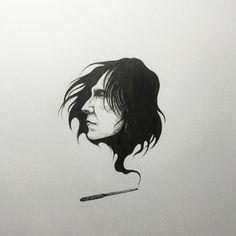 "Severus Snape fan art """"Always!"""""
