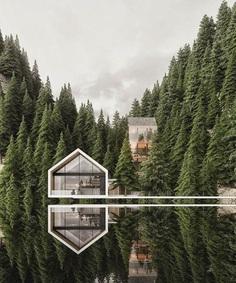 Hidden away in the mountains of Switzerland. cc: @alex_nerovnya