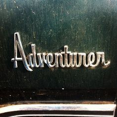 Adventurer #logo #script #typography