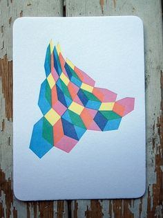 Veil Print - FORTRESS LETTERPRESS + DESIGN #letterpress