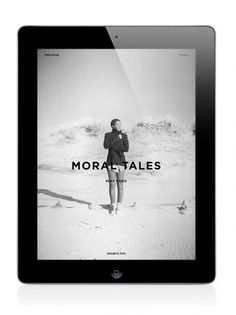Letter to Jane Magazine: Moral Tales on the Behance Network #design #app #interface