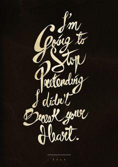 Typographie #heart