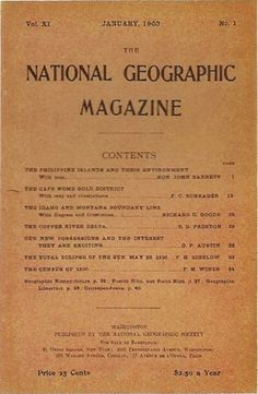 1900.jpg (400×612) #cover #magazine #1900 #national geographic