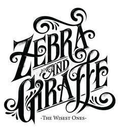 ZEBRA #lettering #typography