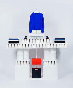 Cos #white #installation #shop #colors #fashion