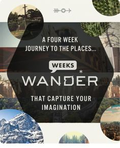 Wander Blog #illustration #layout #typography