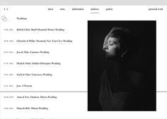 Brittany Esther Photography by Fivethousand Fingers #web design #website