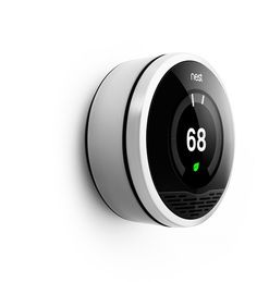 Nest | The Learning Thermostat | Living With Nest #industrial #minimal #clean