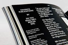 Slanted - Typo Weblog & Magazin - Das Gefühl Typografie - Alles über Schriften, Fontlabels & Design #slanted #grotesque #design #graphic #editorial #magazine #typography