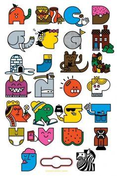 Typeverything.com - Alphabet byMike Davis. (Via... - Typeverything #alphabet