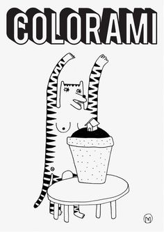 Colorami Project Marco Oggian #mark #rochure #monogram #poster #logo
