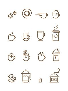 Coffee Icons - Francesco Lucchiari #icon