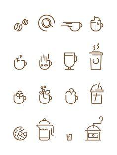 Coffee Icons - Francesco Lucchiari #icon