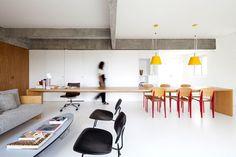 Complete Whiteness of Pantone Design Project by AR Arquitetos - InteriorZine #decor #interior #home