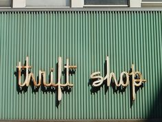 love this font #sign #shop #signage #type #typography
