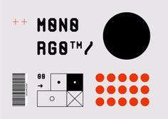 Mono RGO™ typeface Mono RGO™ #monotpye #monospace #modular #monoRGO #RGOtypeface #graphicdesign #design #glyphs