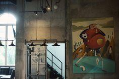 THE PLAYROOM on Behance #branding #cafe #illustration #bar #poster #graphics