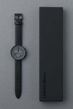 Uniform Wares - Minimal Watch #packaging #photography #minimalism #watch