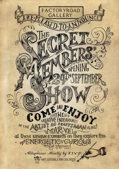Inkymole: Announcing 'The Secret Members' Show'