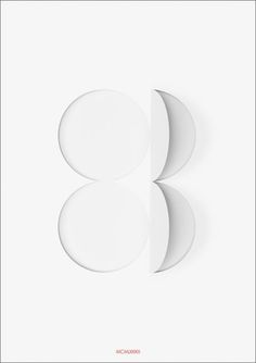 Forty Posters for Forty Years   New at Pentagram #poster #white #negative space #1983 #pentagram