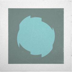 #6 Cut Circle – A new minimal geometric composition each day