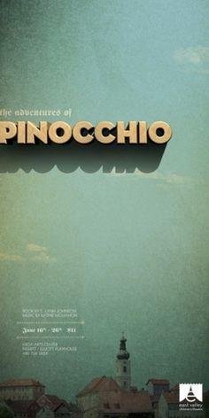 EVCT 2010-2011 Posters | TunnelBravo #type #pinochio #poster #tunnelbravo