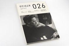 Geiger Magazine #geiger #editorial #magazine