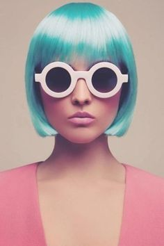 FFFFOUND! | pretty in pink #portrait