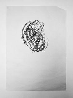 Jack Walsh #art #artwork #circle #charcoal #balck and white #jack walsh