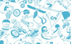 X Games 2011 on the Behance Network #sports #x games