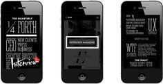 Mobile #interactive #ux #ui #iphone #mobile #ios