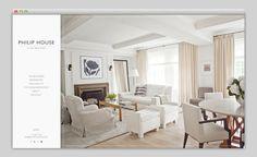 Philip House #website #layout #design #web